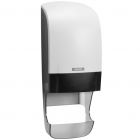 Katrin Inclusive System Toilet Dispenser W White with Core Catcher