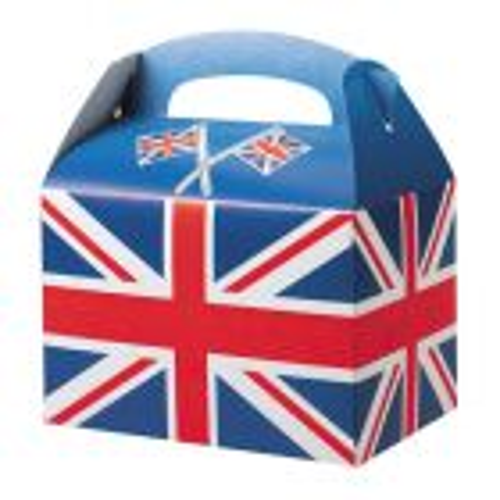 Union Jack Flag Meal Box