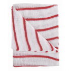Colour Coded Hygiene Striped Dishcloth Red