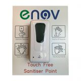 Enov Wall Mounted Touch Free Sanitiser Point
