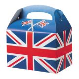 Union Jack Flag Meal Box