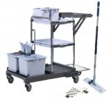 Vileda Origo 100 FX Ready To Go Trolley Kit
