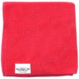 General Purpose Microfibre Wipes Red