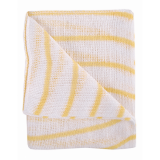 Colour Coded Hygiene Striped Dishcloth Yellow