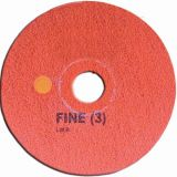 "Super Shine Floor Pad System Fine 17"" (43cm) Red"