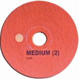 "Super Shine Floor Pad System Medium 17"" (43cm) Red"