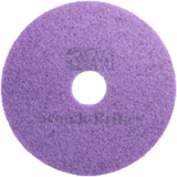 "3M Scotch-Brite Purple High Shine Diamond Pad 17"" 43cm"