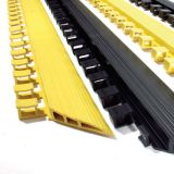 Coba Deluxe Workplace Anti Fatigue Rubber Mat Edging 1565mm Yellow