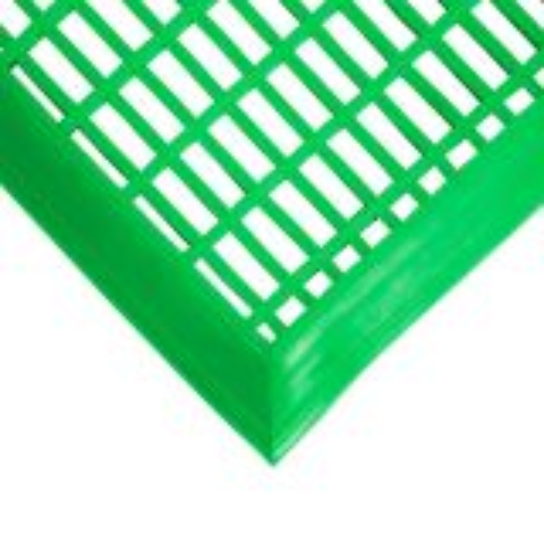 "Coba Leisure & Pool Area Safety PVC Mat Green 0.60m x 1.2m 47"""