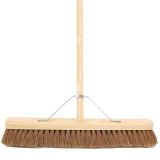 Wooden Broom Complete Soft 24""