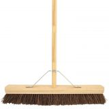 Wooden Broom Complete Stiff 36""