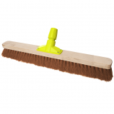 Premium Wooden Broom Head Soft Coco 36""