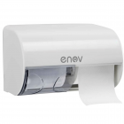 Lineacqua Toilet 2-Roll Dispenser White