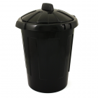 Refuse Bin with Lid 78 Litre