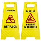 Floor Sign CAUTION WET FLOOR