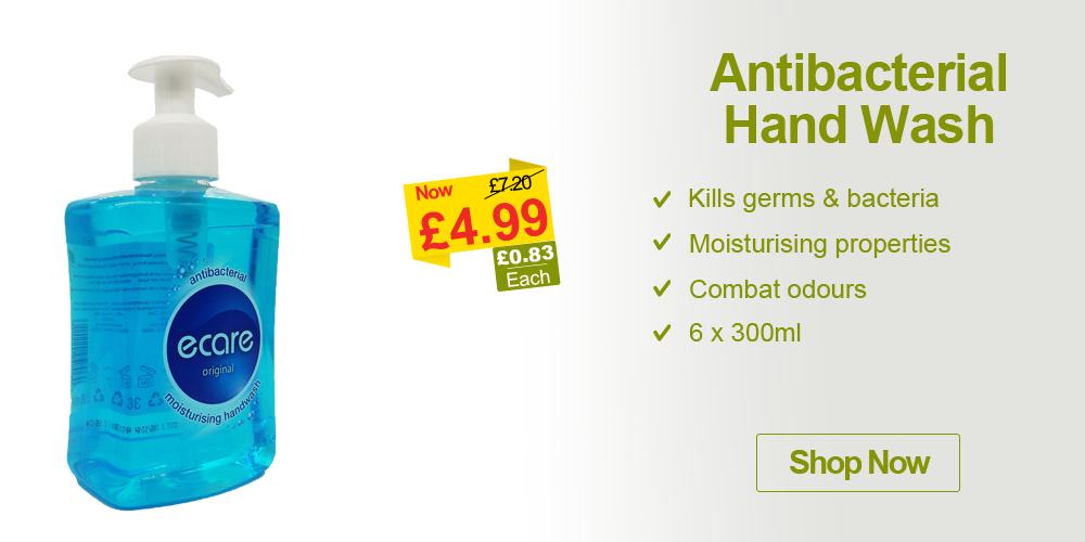 cleaning products antibacterial hand wash offer campaign banner