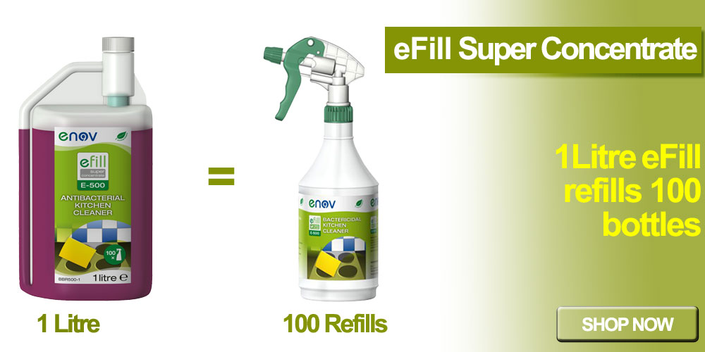 Cleaning Products Efill Banner