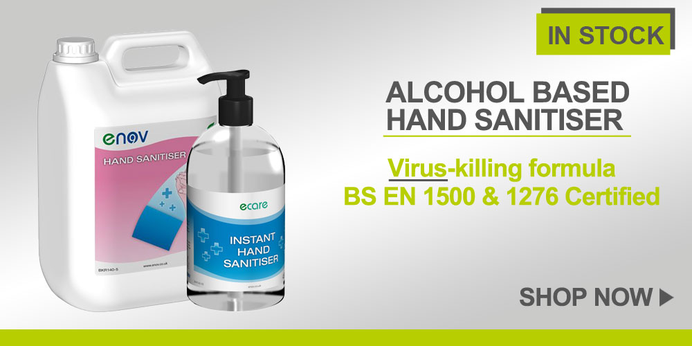 Hand Sanitisers 5 lt and 450 ml