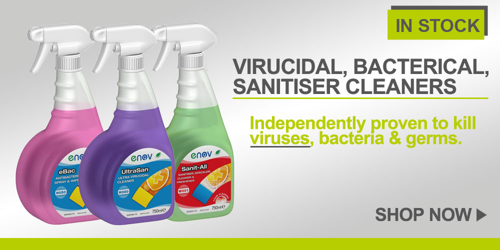 Virucidal, Bactericidal, Sanitiser & Cleaners